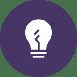 purple bulb