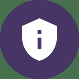purple shield