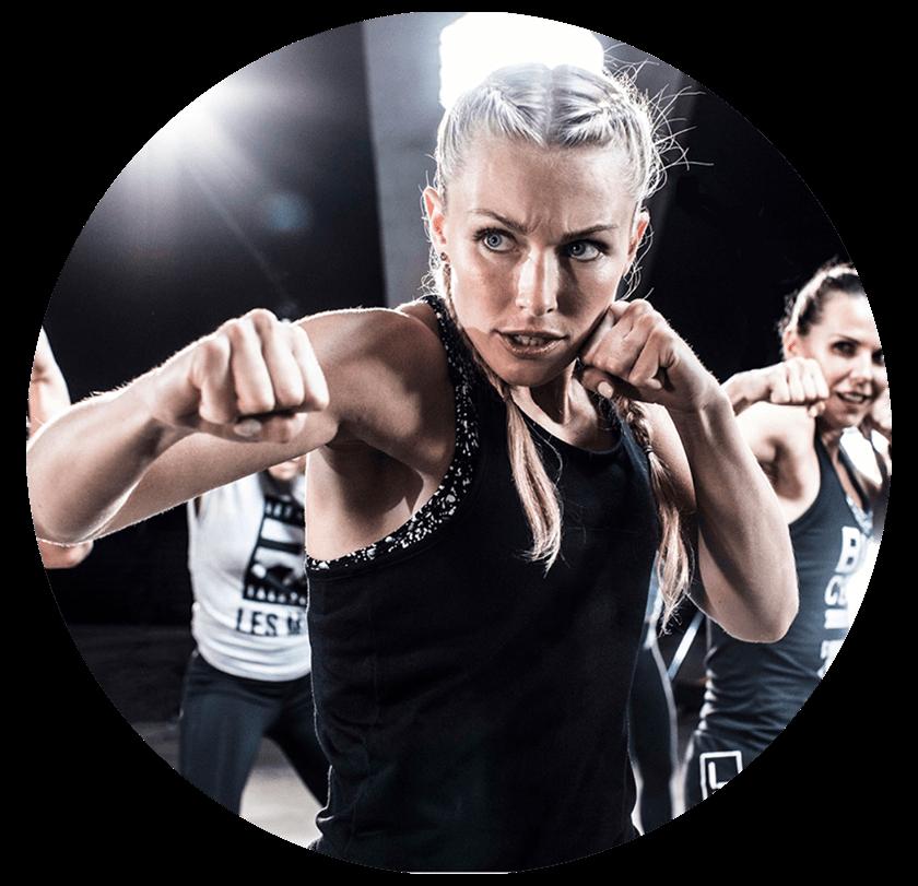2020-11-20 Les Mills Impact - Girl Punching