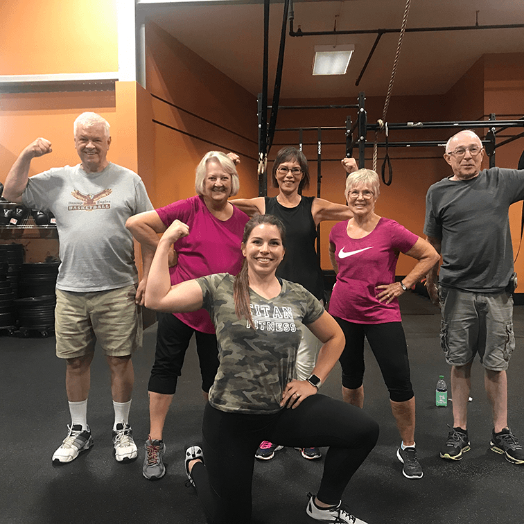 Stevie - Fit Over 50 Class